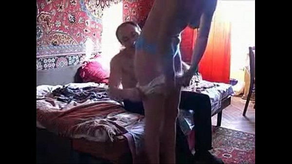 Russian Prostitute On Cam Servicing Client