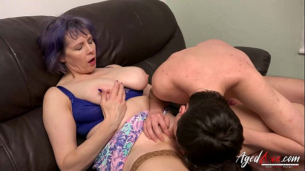 AgedLovE Busty Lady Hard Rough Mature Sex Thumb
