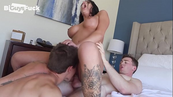 Big Dick Delivery Guy Gets Lucky And Fucks BOTH The Husband AND Hot Wife! Thumb
