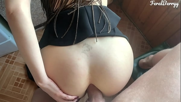 My stepsister's big natural tits are driving me crazy. I put my cock in her milky ass. FeralBerryy Thumb