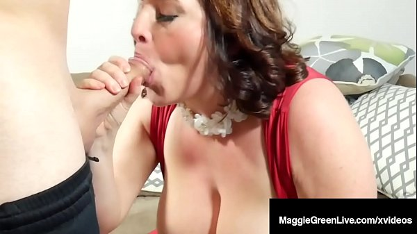 Young Cougar Maggie Green Pussy Fucks A Cock For Her BDay