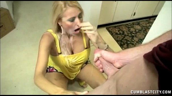 Facial blasting for cheating party milfs 4