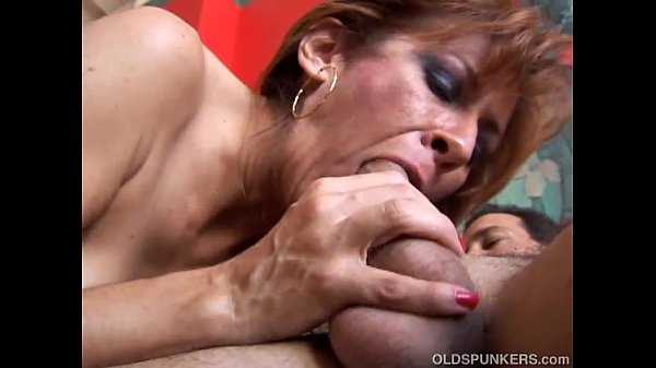Saucy old spunker loves to fuck her fat juicy pussy 4 u - 4 8