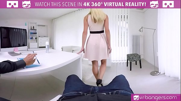 VRBangers.com Hot Assistant Fuck Her Boss On The Table