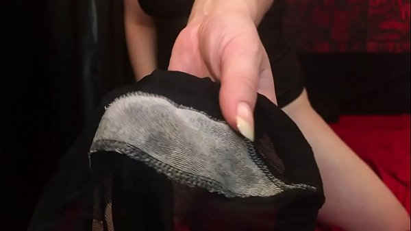Pantyhose Fetish with Pussy Juices. Mistress Ho...