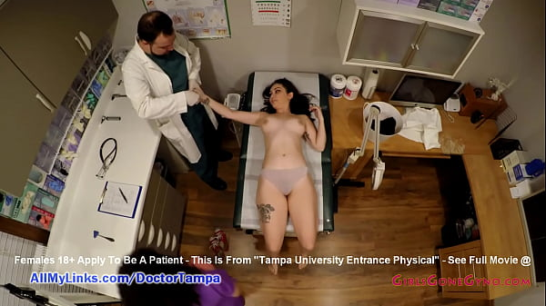 Lenna Lux AKA Bill Gapes Gets Gyno Exam Caught On Spy Cam From Doctor Tampa & Nurse Lilith Rose @ GirlsGoneGyno.com! - Tampa University Physical