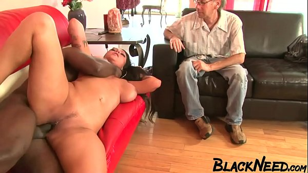 Strange Guy Needs To Watch The BBC Fucking His Wife!