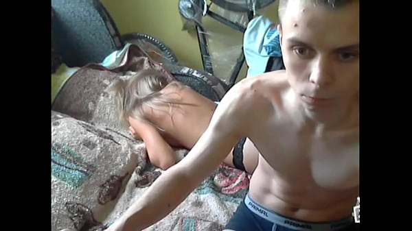 Fucking a blonde cunt in the face