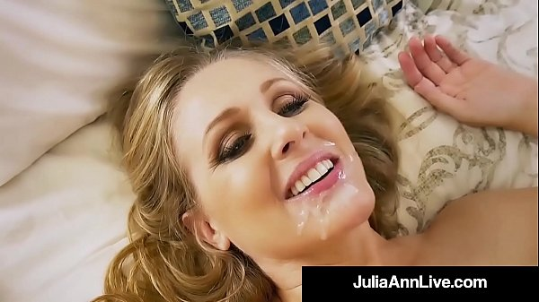 Hot Step Mother Julia Ann Gets Nude & Naughty w...