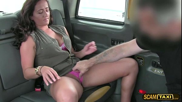 Damn hot MILF gets beat by a giant cock and cre...