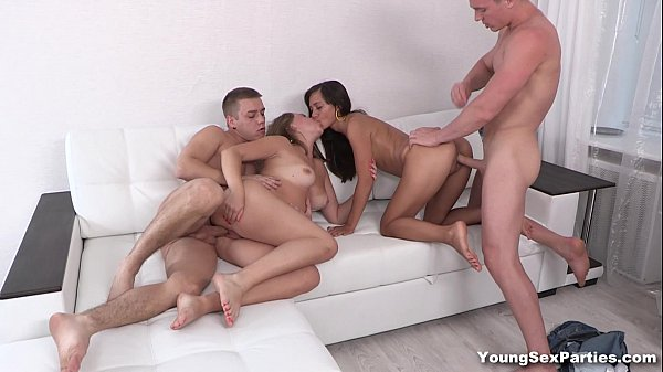 Young Sex Parties - Double gangbang date double fuck Diana Dali Shrima Malati Thumb
