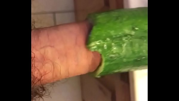 Big Dick Fucking a Hollow Cucumber.MOV