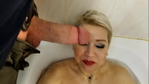 33 min of total worship of a mature bitch to her Husband's Dick, only pov blowjob close-up non-stop!