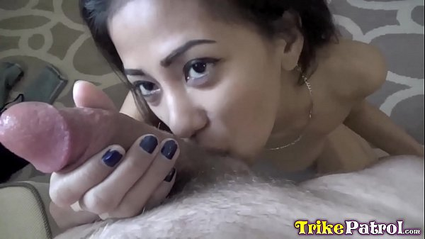 TRIKEPATROL Gorgeous Asian Beauty Makes Guy Cum Quick