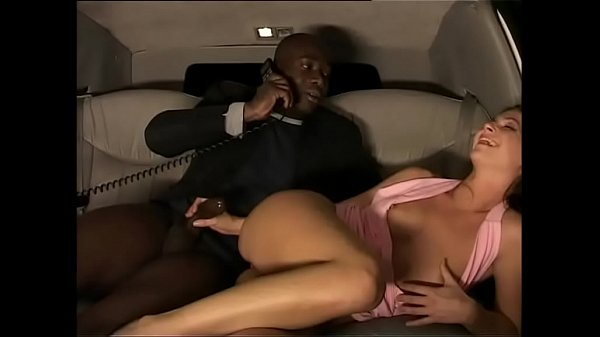 Rich lady fucked in limousine by the black driver