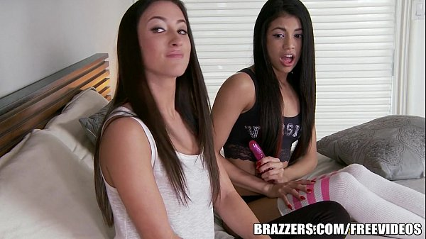 Veronica fucks with her stepsister and her boyfriend
