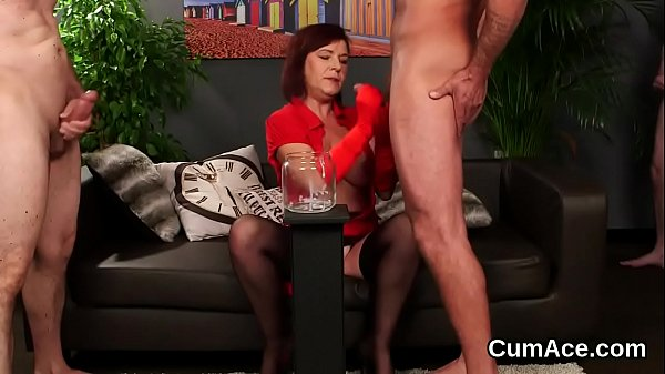 Wicked idol gets cumshot on her face sucking all the juice