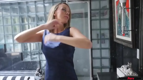 Blonde MILF mom just needs her sons dick!