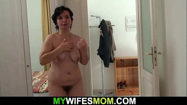 Wife caught him doggy-fucking her old m.
