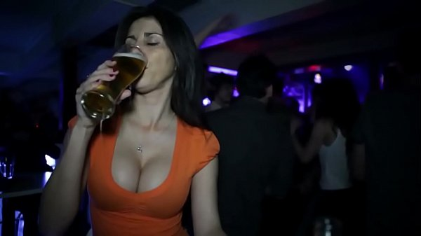 sexiest drinking ever in bar Thumb