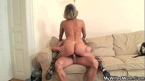 My wife hot mom His Wife S Mom Blackmailed Him Into Hot Sex Xvideos Com