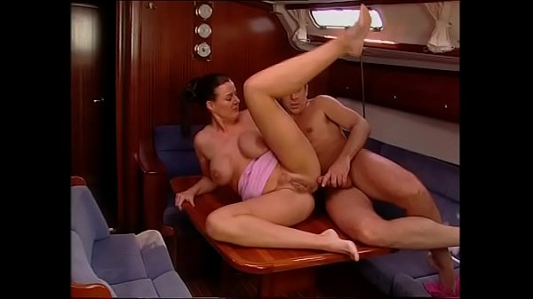 Sex on a boat with a milf with big and nice tits Thumb