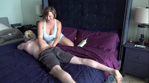 The Step Mom Son Massage Routine Preview - Brianna Beach