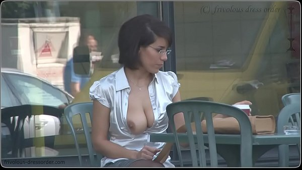secretary must expose her tits in public