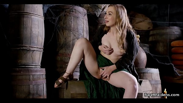 Medieval maid caught on in the pantry - Gracie Green - BARE MAIDENS Thumb