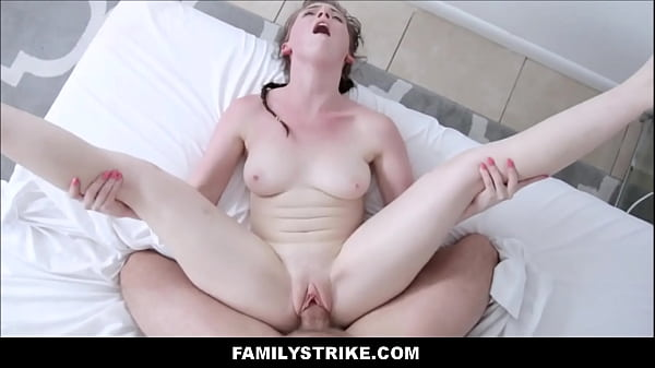 Petite Teen Step Sister Athena Rayne Family Fucked To Multiple Orgasms By Step Brother POV