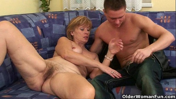 Nothing better that shooting your cum on mom's ...