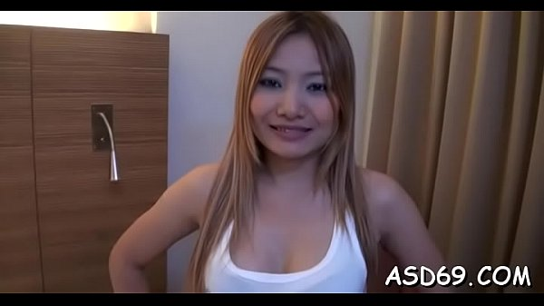 Voluptuous oriental sex doll boasts of her one-...