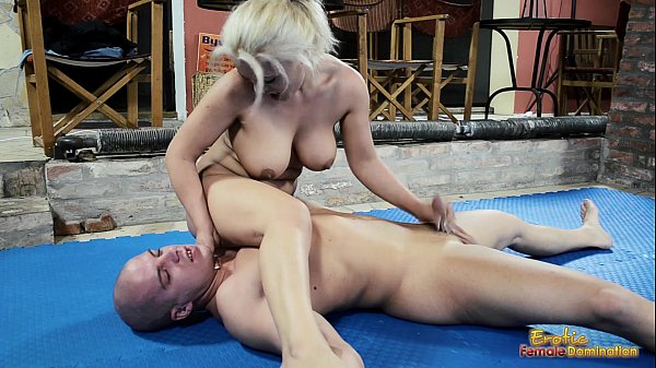Naughty mud wrestling big titties blonde
