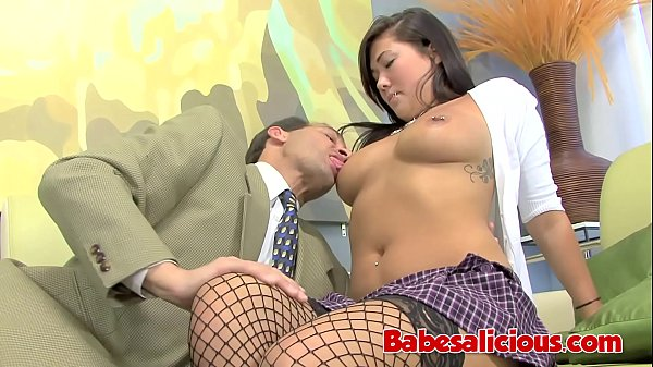 Babesalicious - Promiscuous Asian Bang her Friend's Father