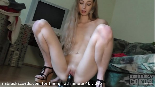 19yo areana fox back taking a huge black dildo at my beach house for summer solstice Thumb