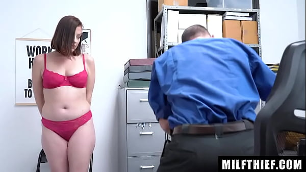 Busty Milf Sovereign Syre f. to Ride On A Big Dick In The Office Thumb