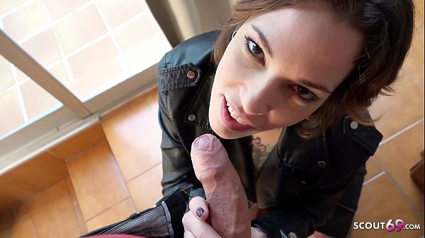 GERMAN SCOUT - SHORT HAIR BIG CLIT TATTOO MILF SILVIA TALK TO FUCK AT PICK UP CASTING
