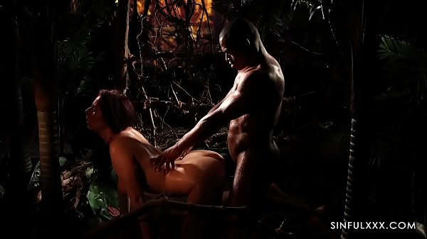 Interracial Sexual Healing in the Jungle