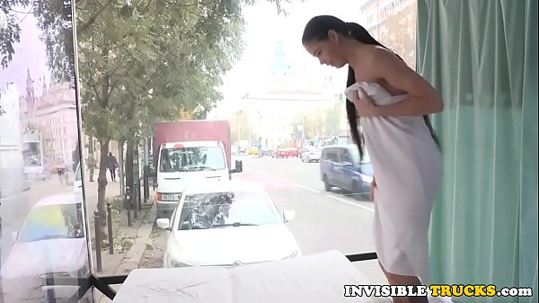 Euro babe picked up for massage on roadside Thumb