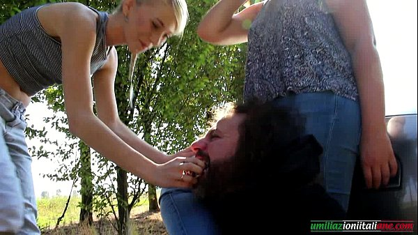 The First Time Of Valeria Part 2 - 2 Girls vs 1 Slave