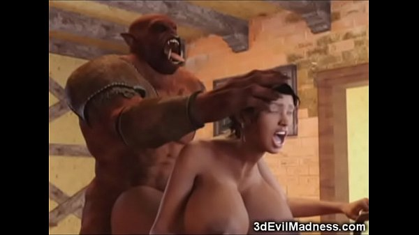 3D Busty Girls Destroyed by Giant Monsters