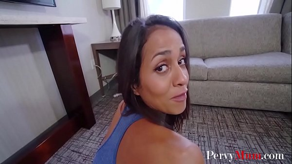 Brunette YOGA MOM takes SON's cock- Abby Lee Brazil
