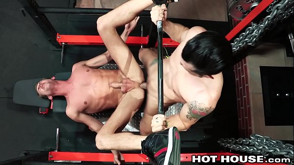 HotHouse Skinny Muscle Daddy Likes Getting Dick...