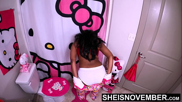 60fps Stripping Out Of These Hot Jammies In Full White Panties Wiggling My Thick Brown Donky Ass Cheeks Around, Msnovember Getting Ready For Bed, Needed To Get The Undies Out of Her Butt Crack, Close Up SFW Dairy Air Spread on Sheisnovember