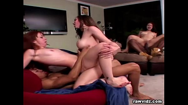 3 Hot Babes And 2 Black Studs