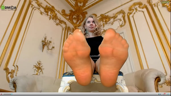 emma brooks is a pantyhose slut with sexy nylon covered soles that she loves to show off