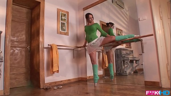 Aleska Diamond is a horny ballerina that gives blowjobs in XXXtreme poses
