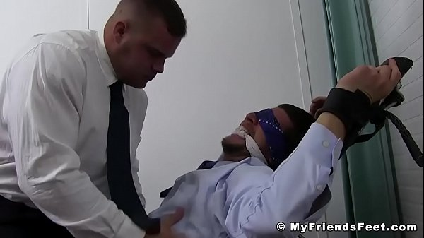 2019-01-01 01:31:05 - Businessman Sergey bound and laughing foot torment 5 min  HD http://www.neofic.com