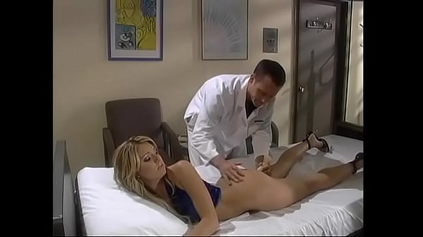 Smart blonde babe Teagan Presley dished up some excuse or other to visit her boyfriend working as house surgeon to remove foreign object from her anal orifice Thumb