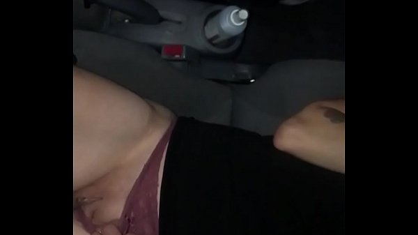 Hiding in my car at work getting my pussy wet